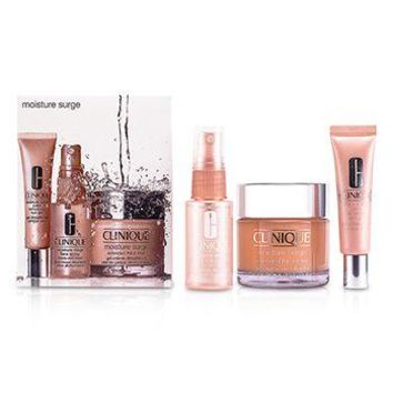 Clinique Moisture Surge Set: Cream 75ml + Eye Gel 15ml + Face Spray 30ml Skincare