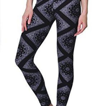 VIV Collection Popular Printed Brushed Buttery Soft Leggings Regular and Plus 40+ Designs List 5