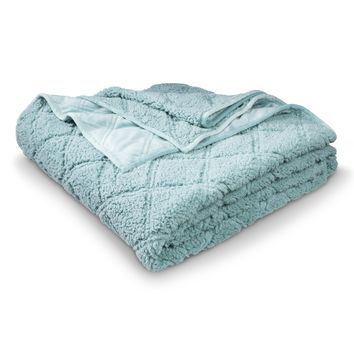 Threshold™ Sherpa Plush Blanket