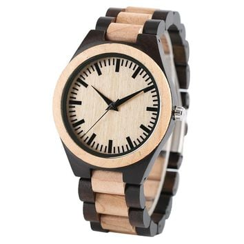 Boss Luxury Maple Wooden Watch