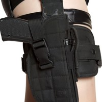 Gun leg holster with belt