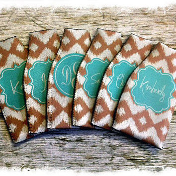 Personalized BOTTLE Koozie... Great Bridesmaids and by rrpage