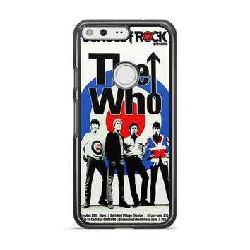The Who Vintage Poster Google Pixel Case | casescraft