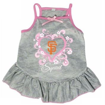 ONETOW San Francisco Giants 'Too Cute Squad' Pet Dress