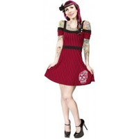 SOURPUSS SUGAR SKULL MIA DRESS - Dresses - Gals