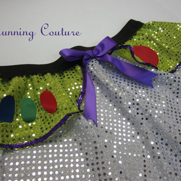 Buzz Story inspired Sparkle Running Misses round skirt Jessie, Woody