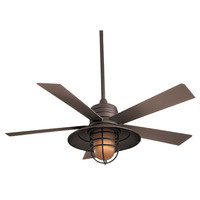 Minka Aire F582-ORB Rainman Oil Rubbed Bronze 54 Inch Blade Indoor/Outdoor Ceiling Fan for Wet Locations