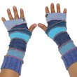 Arm warmers/Shades of Blue
