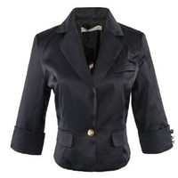 Gamiss Women's Short Version Form-fitting Suit Coat