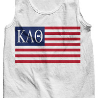 Kappa Alpha Theta USA Tank Top