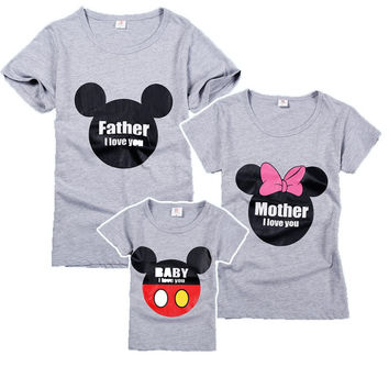 Disney, Mickey, Family Matching Shirts