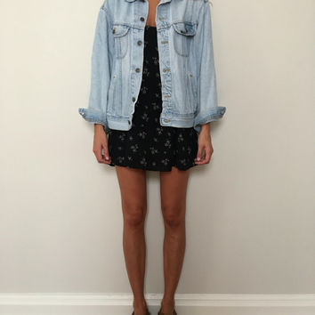 Vintage Lee Oversized Denim Jacket