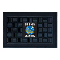 Golden State Warriors 2015 NBA Champion Vinyl Doormat (19x30)