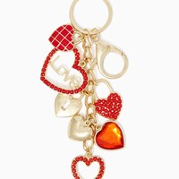 Heart String Key Chain | Handbag Accessories – Valentine's Day | charming charlie