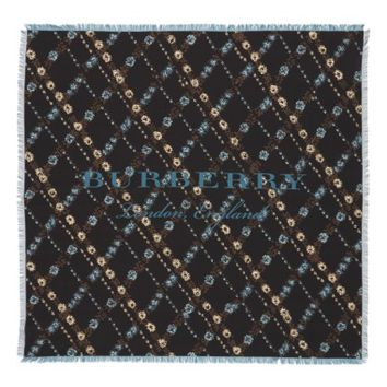 Burberry Castleford Check Silk Square Scarf | Nordstrom