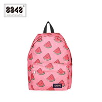8848 Brand Women Backpack Soft Back Polyester Backpacks School Student Girl 20 L Capacity Preppy Style Casual Type S173915-013