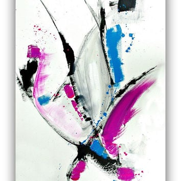 Abstract ART painting - Original Abstract painting - Large Wall art on 24x36 canvas - Modern Painting