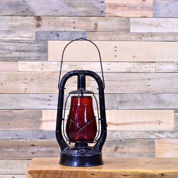 Vintage Lantern, Dietz Monarch Lantern, New York NY USA