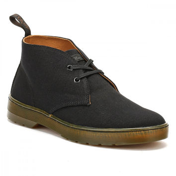 Dr. Martens Mens Black Cruise Mayport Shoes