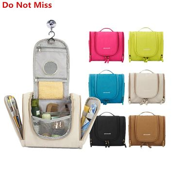 Do Not Miss New Women Cosmetics Bag High Quality Travel Hanging Travel Organizer Bag Multifunction Travel Hygiene Bag Wash Bags