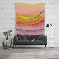 Abstract A02 Wall Tapestry by marcogonzalez