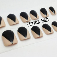 Black Claw false nails