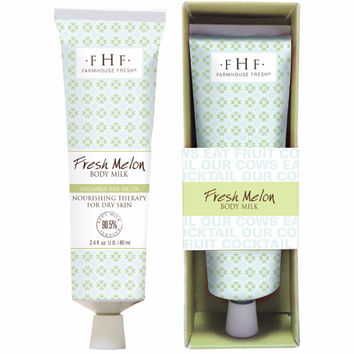2.4 oz fresh melon body milk