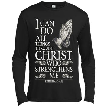 Christian Gifts For Women All Things Through Christ T-shirt cool shirt