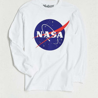 NASA Logo Long-Sleeve Tee - Urban Outfitters