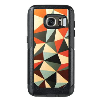 Cool Colorful Abstract Geometric Triangle Pattern OtterBox Samsung Galaxy S7 Case