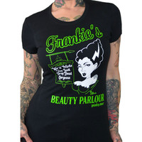 Pinky Star Frankie's Beauty Parlor Tee