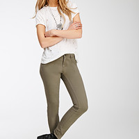 Low-Rise Skinny Pants