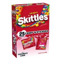 Skittles Valentine's Exchange Kit - 25ct/13.4oz