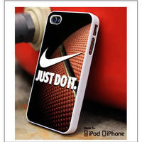 Nike Just Do It Basketball iPhone 4s iPhone 5 iPhone 5s iPhone 6 case, Galaxy S3 Galaxy S4 Galaxy S5 Note 3 Note 4 case, iPod 4 5 Case