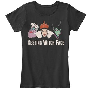 Resting Witch Face Halloween