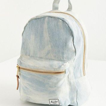 ONETOW Herschel Supply Co. Grove Bleached Denim Backpack | Urban Outfitters