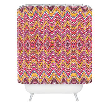 Ingrid Padilla Peachy Whim Shower Curtain