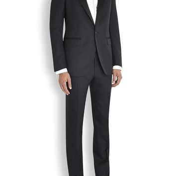 Lanvin Black wool and wool blend suit