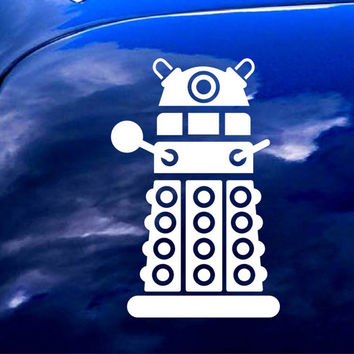 Doctor Who DALEK iPad Car Notebook Decal Sticker 4""
