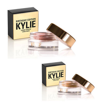 Kylie Cosmetics Birthday Edition Copper & Rose Gold Creme Shadow 2 colors Kylie Jenner Makeup Eyeshadow Eyebrow