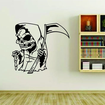 Grim Reaper Version 102 Vinyl Wall Decal Sticker