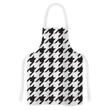 "Empire Ruhl ""Spacey Houndstooth"" Artistic Apron"