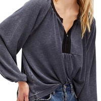 Free People Acadia Henley Top | Nordstrom