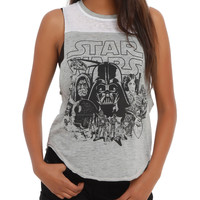 Star Wars Tonal Girls Muscle Top
