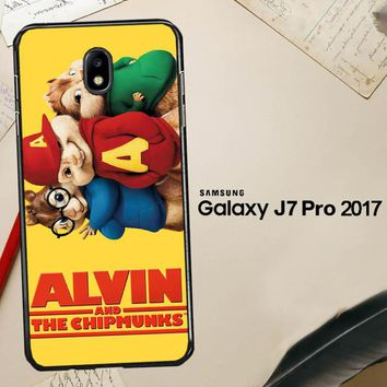 Alvin And The Chipmunks F0267 Samsung Galaxy J7 Pro SM J730 Case