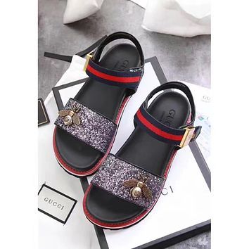 GUCCI : Ladies bees sandals beach shoes