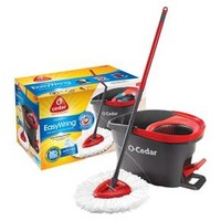 O-Cedar Easy Wring Spin Mop and Bucket