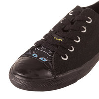 Converse All Star CIPPCAP skin Black Cat  Sneakers Shoes New Easy Diy Custom Chuck Taylors