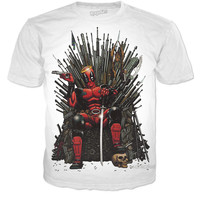 Deadpool Game Of Thrones Fan Art