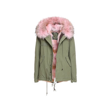Mr and Mrs Italy Coyote Pink Mini Parka